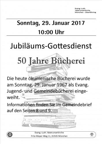 Jubiläum-Bücherei