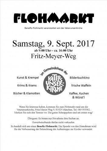 Gottesdienst mit Abendmahl @ München: Vaterunserkirche München Oberföhring